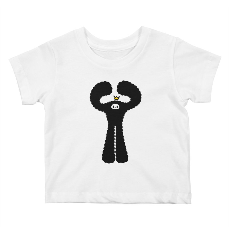 mighty black yeti Kids Baby T-Shirt by Ziqi - Monster Little