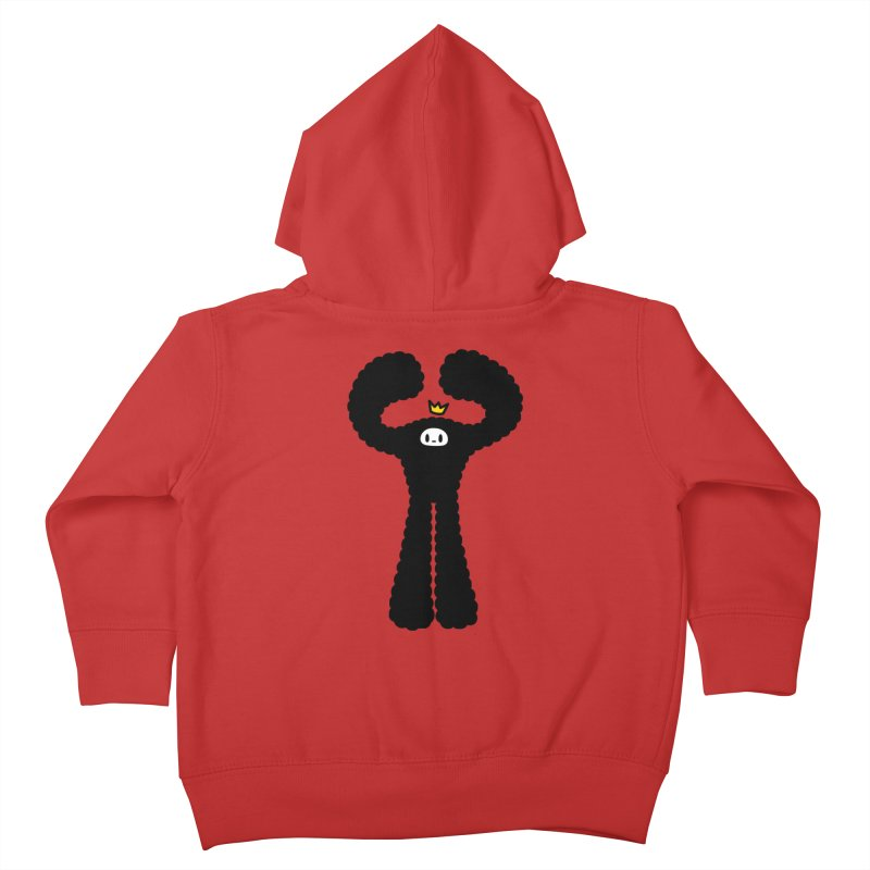 mighty black yeti Kids Toddler Zip-Up Hoody by Ziqi - Monster Little