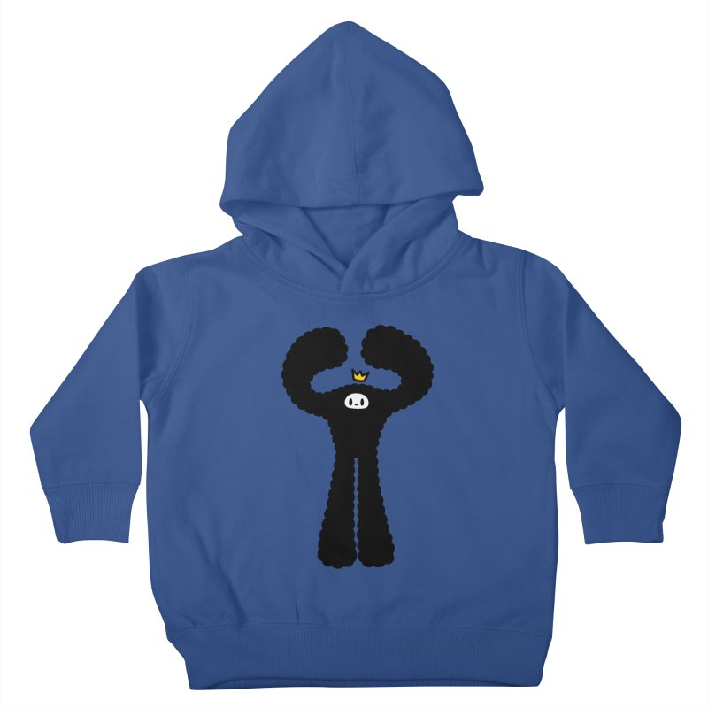 mighty black yeti Kids Toddler Pullover Hoody by Ziqi - Monster Little