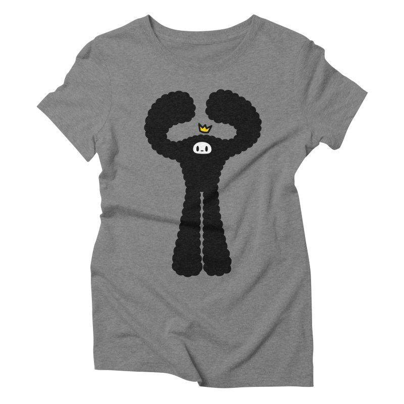 mighty black yeti Women's Triblend T-Shirt by Ziqi - Monster Little