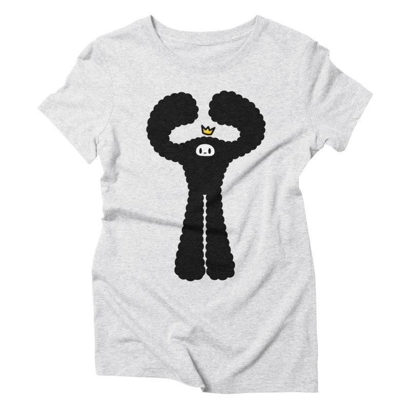 mighty black yeti Women's Triblend T-shirt by Ziqi - Monster Little