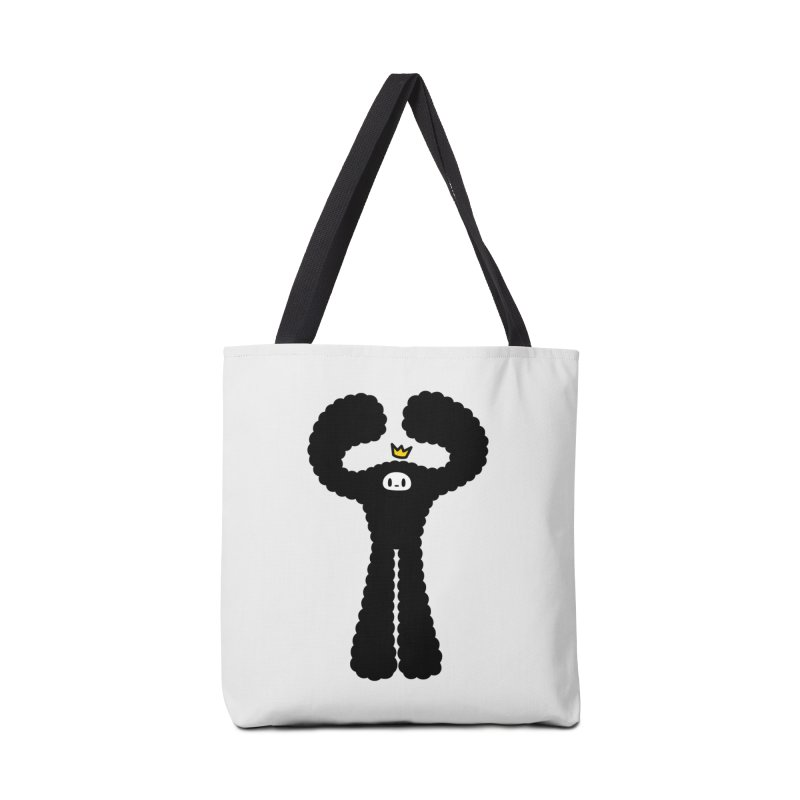 mighty black yeti Accessories Bag by Ziqi - Monster Little
