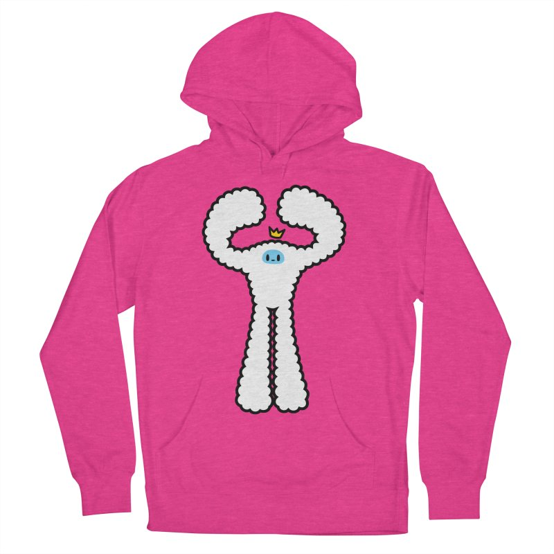 mighty white yeti Women's Pullover Hoody by Ziqi - Monster Little