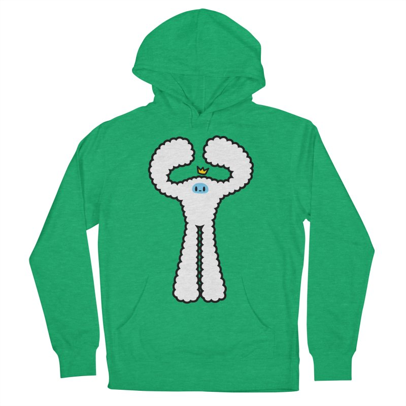 mighty white yeti Men's Pullover Hoody by Ziqi - Monster Little