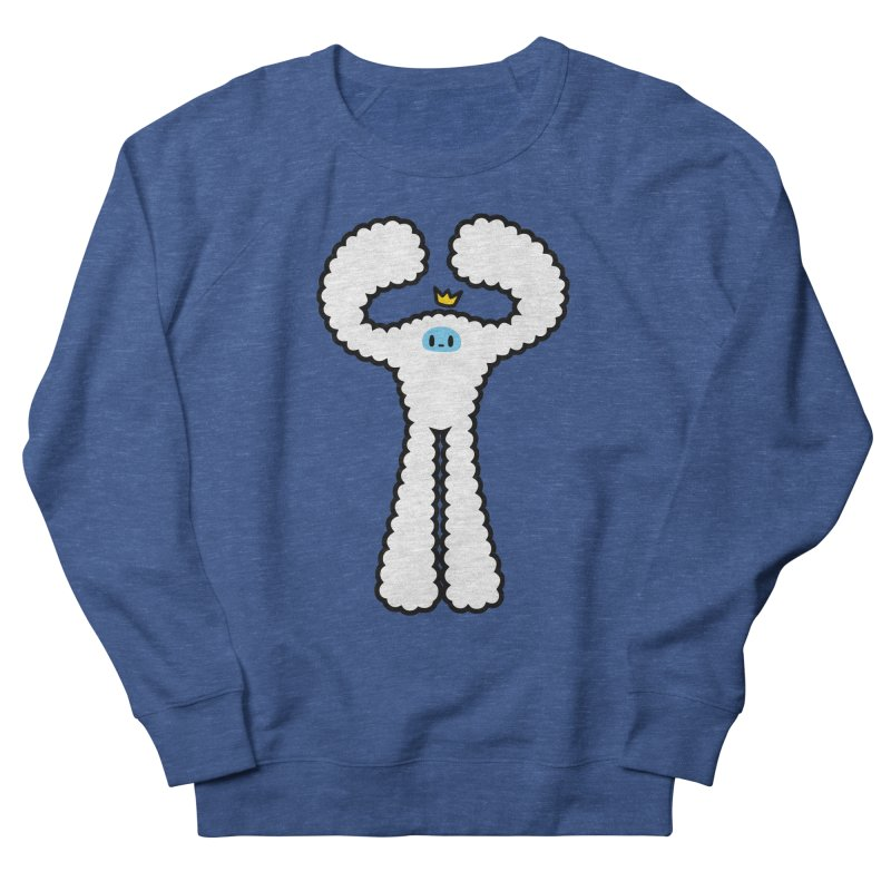 mighty white yeti Men's Sweatshirt by Ziqi - Monster Little