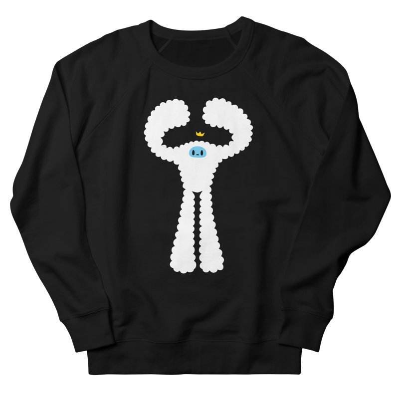 mighty white yeti Men's Sweatshirt by Ziqi - Monster Little