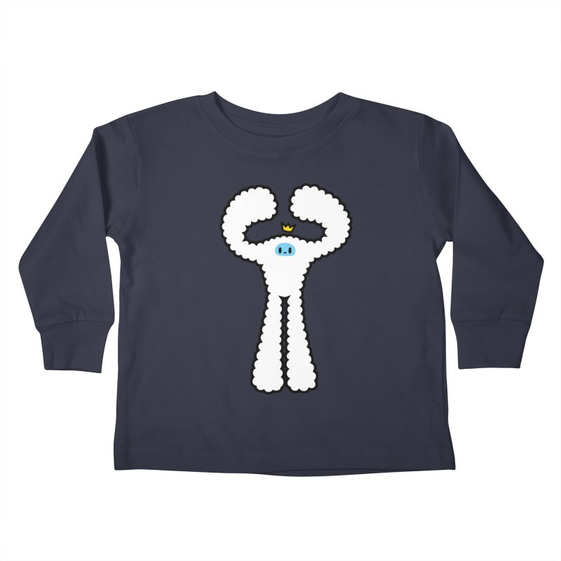 mighty white yeti Kids Toddler Longsleeve T-Shirt by Ziqi - Monster Little