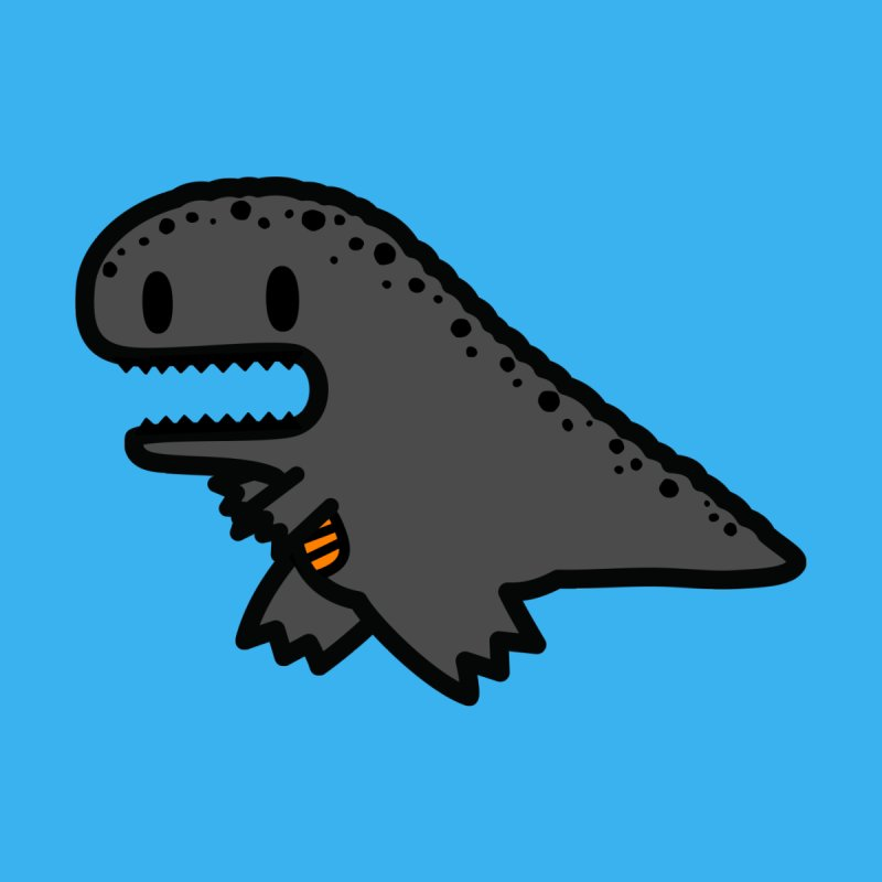 little t-rex dino   by Ziqi - Monster Little