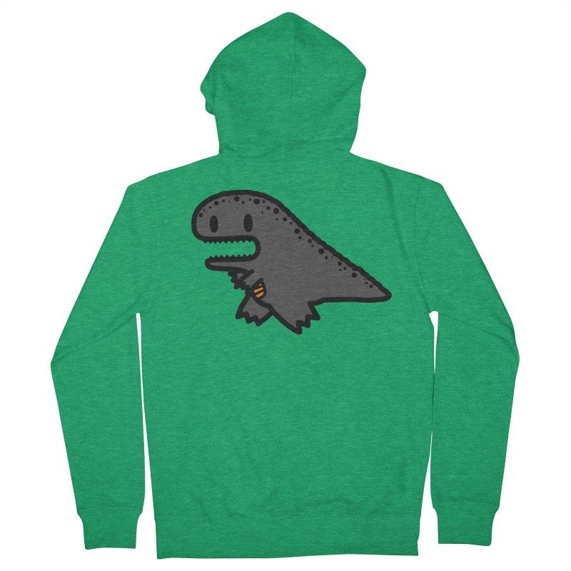 little t-rex dino Men's Zip-Up Hoody by Ziqi - Monster Little