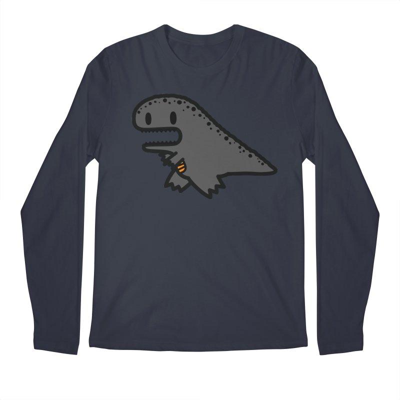 little t-rex dino Men's Longsleeve T-Shirt by Ziqi - Monster Little