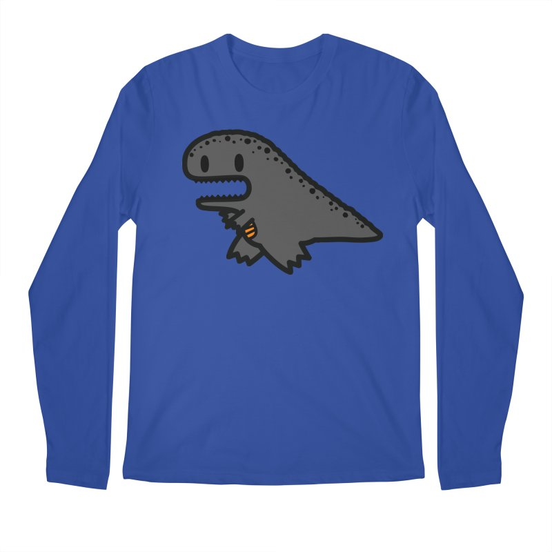 little t-rex dino Men's Longsleeve T-Shirt by Ziqi - Monster Little