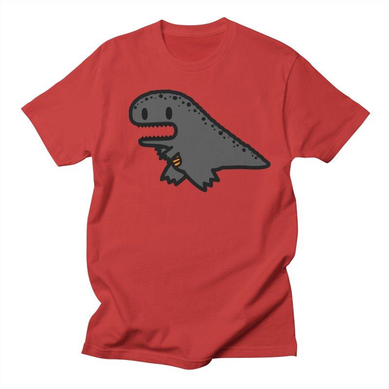little t-rex dino Men's Regular T-Shirt by Ziqi - Monster Little