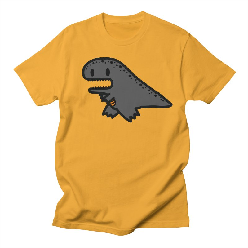 little t-rex dino Men's T-shirt by Ziqi - Monster Little