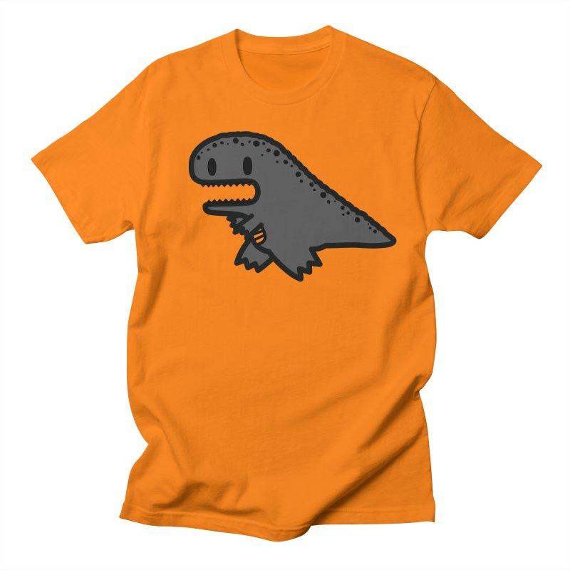 little t-rex dino Men's T-Shirt by Ziqi - Monster Little