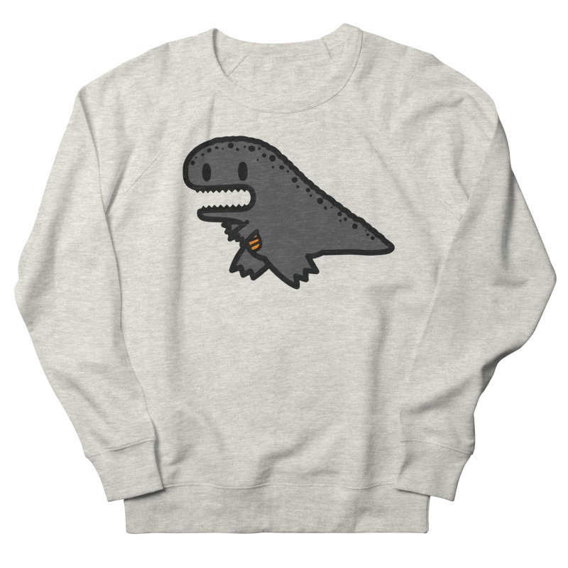 little t-rex dino Women's Sweatshirt by Ziqi - Monster Little