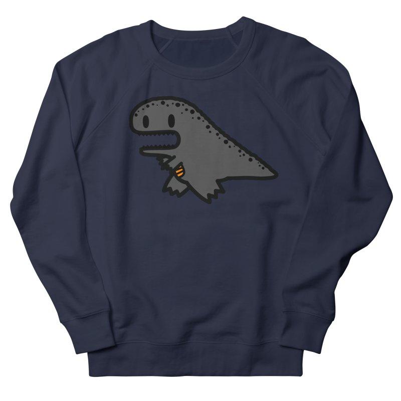 little t-rex dino Men's French Terry Sweatshirt by Ziqi - Monster Little