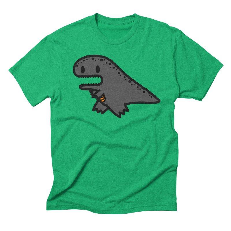 little t-rex dino Men's Triblend T-Shirt by Ziqi - Monster Little