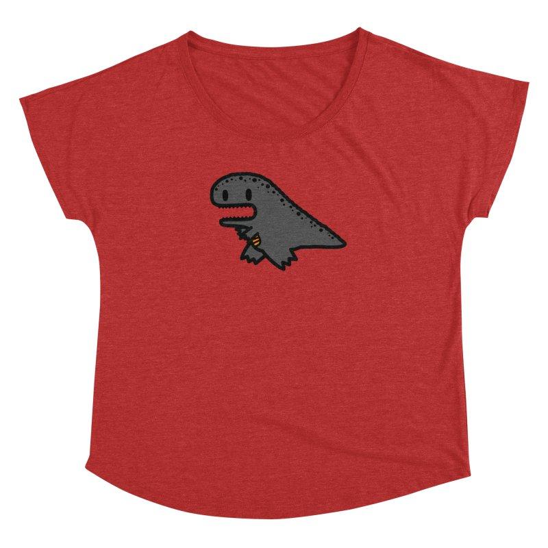 little t-rex dino Women's Dolman by Ziqi - Monster Little