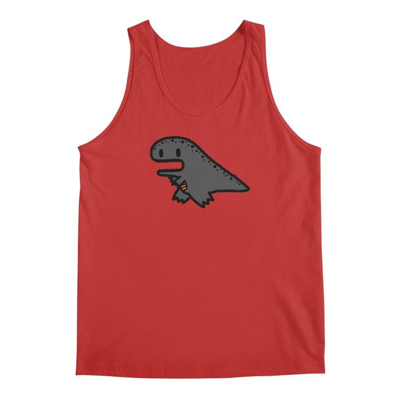 little t-rex dino Men's Regular Tank by Ziqi - Monster Little