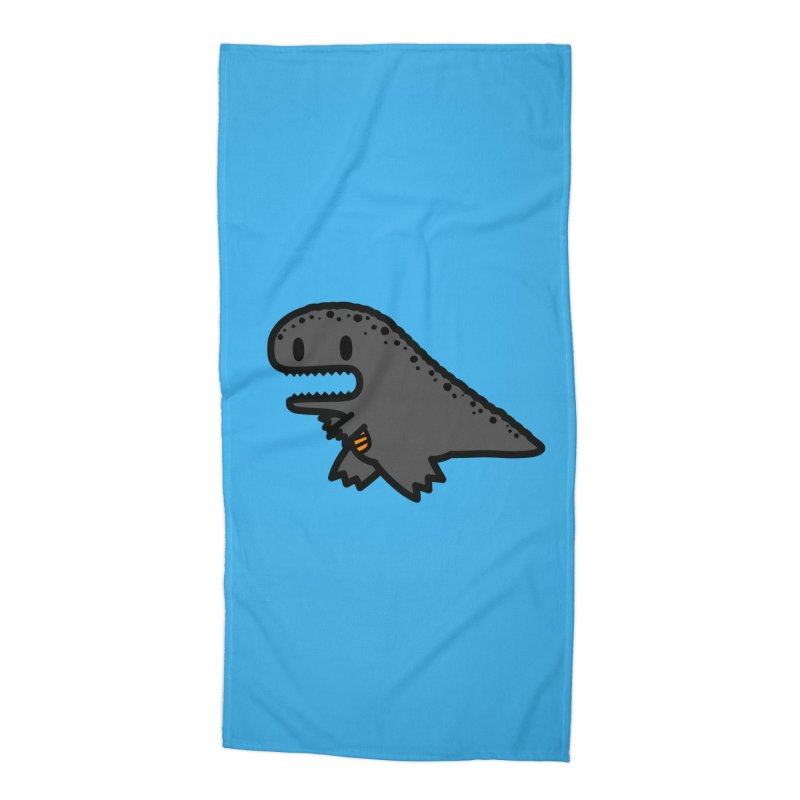 little t-rex dino Accessories Beach Towel by Ziqi - Monster Little