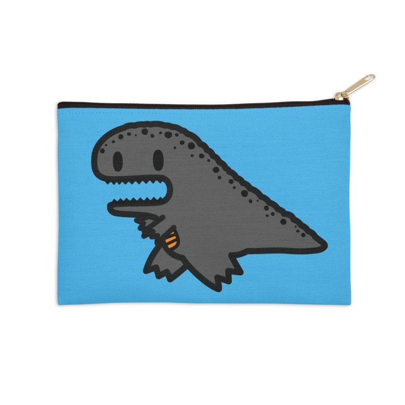 little t-rex dino Accessories Zip Pouch by Ziqi - Monster Little
