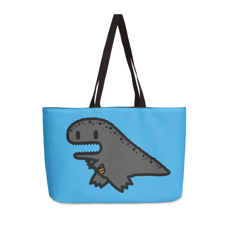 little t-rex dino Accessories Weekender Bag Bag by Ziqi - Monster Little