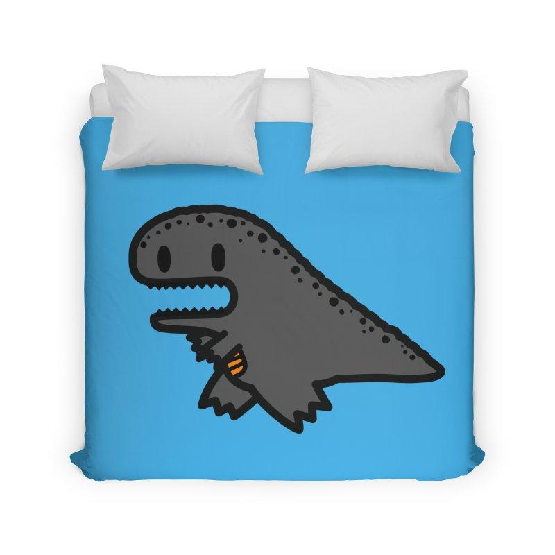 little t-rex dino Home Duvet by Ziqi - Monster Little