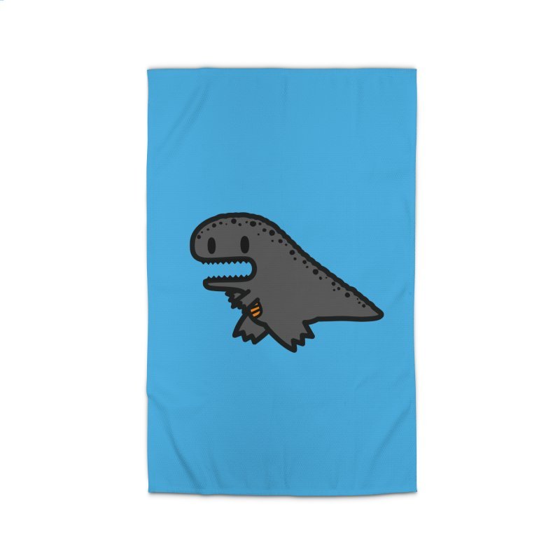 little t-rex dino Home Rug by Ziqi - Monster Little