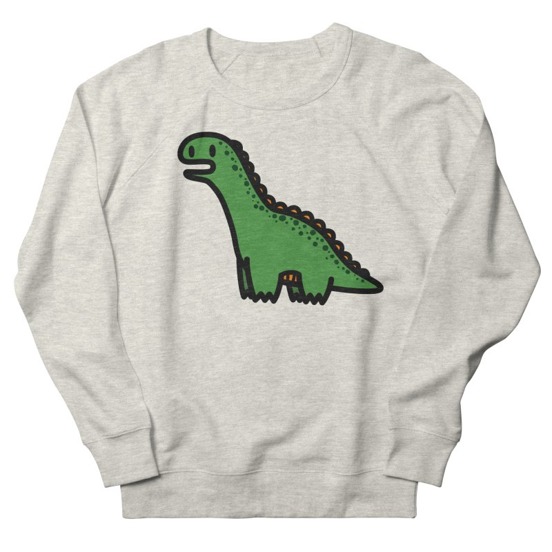 little green diplodocus dino Women's Sweatshirt by Ziqi - Monster Little