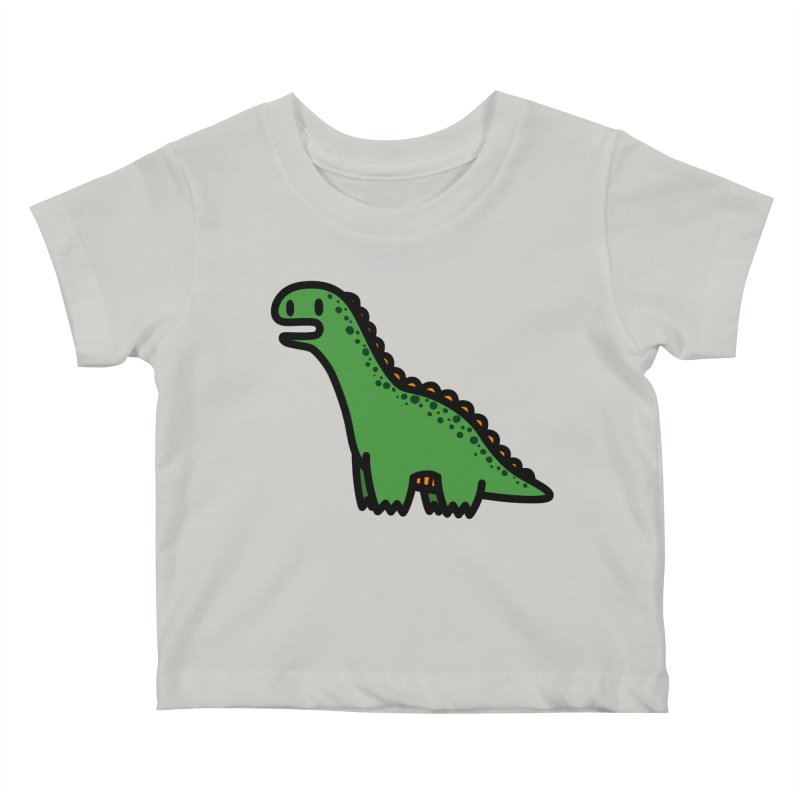 little green diplodocus dino   by Ziqi - Monster Little