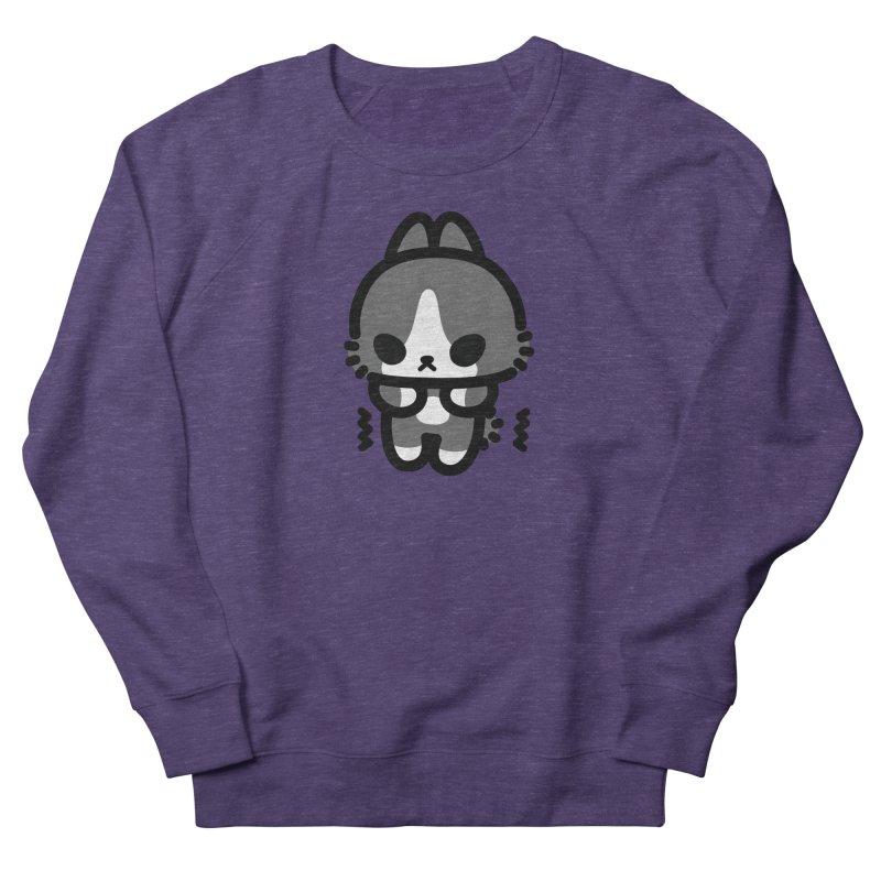scaredy scaredy grey white bunny Women's Sweatshirt by Ziqi - Monster Little