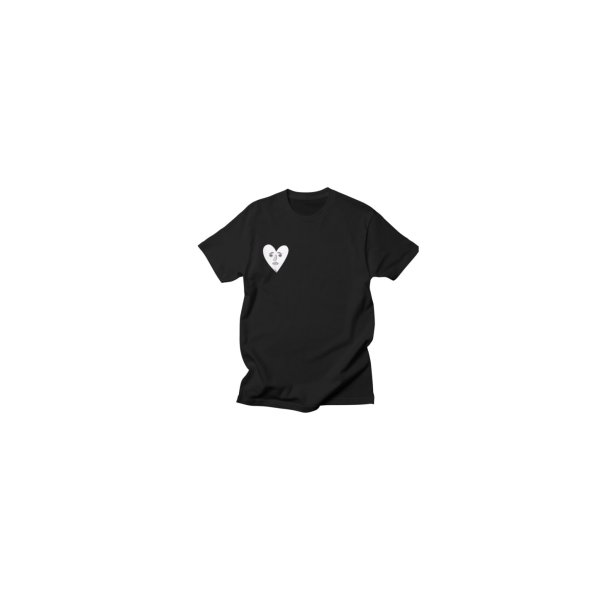 image for Sad Heart Tee in Black