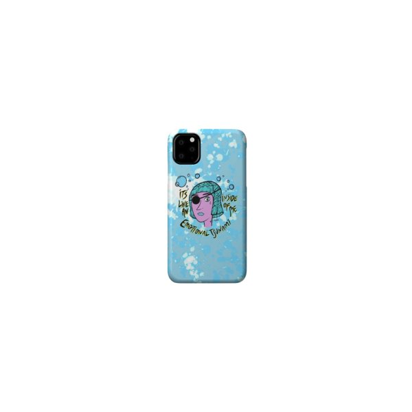 image for Tsunami Phone Case in Blue