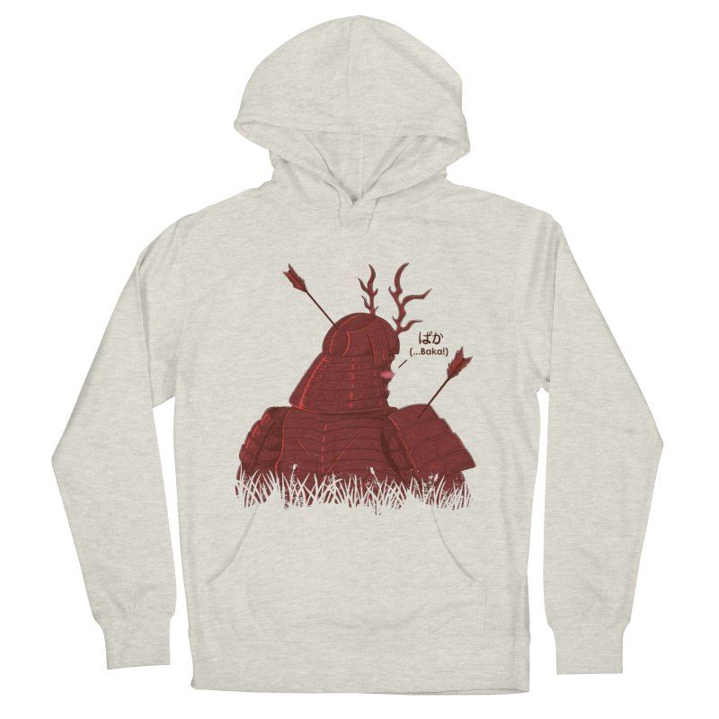 Tsundere Samurai Men's Pullover Hoody by Wolf Bite Shop