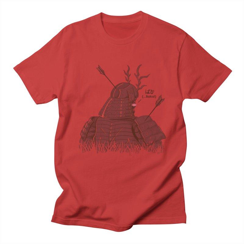 Tsundere Samurai Men's T-shirt by Wolf Bite Shop