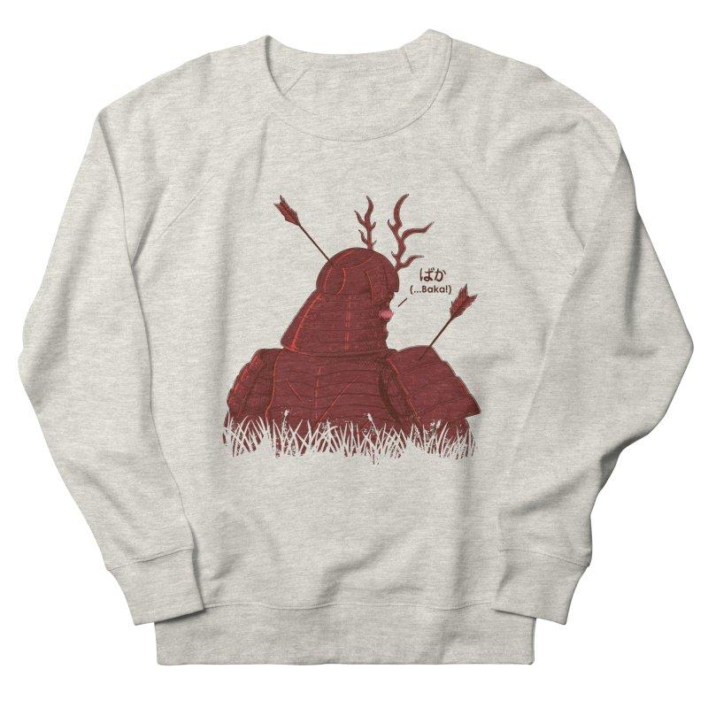 Tsundere Samurai Women's French Terry Sweatshirt by Wolf Bite Shop