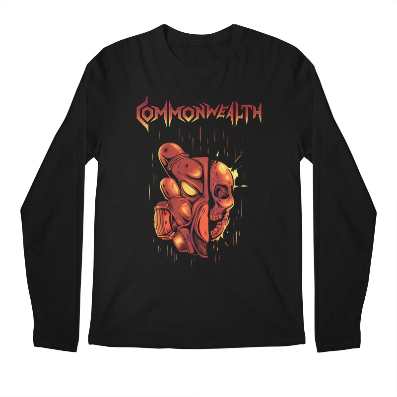 Metal band - Commonwealth Men's Longsleeve T-Shirt by Wolf Bite Shop