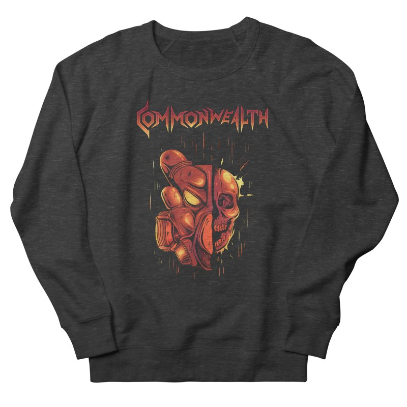 Metal band - Commonwealth Women's Sweatshirt by Wolf Bite Shop
