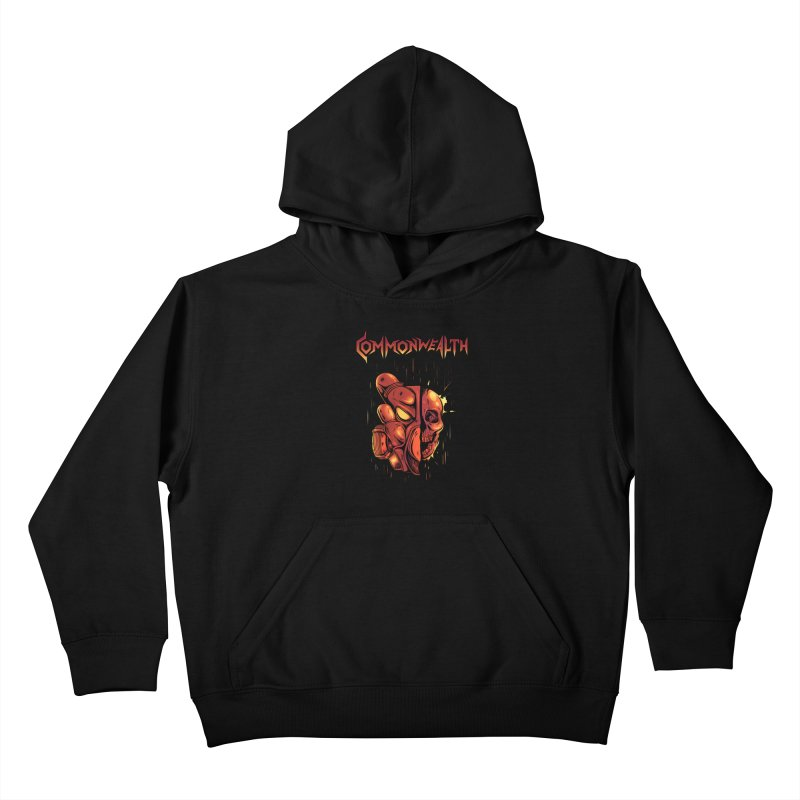 Metal band - Commonwealth Kids Pullover Hoody by Wolf Bite Shop