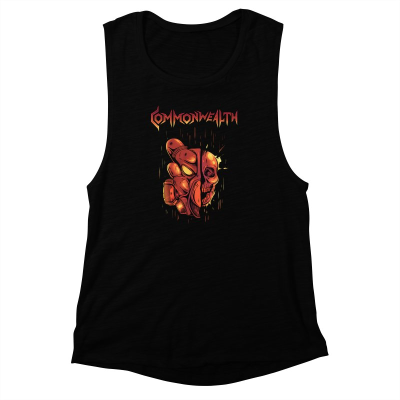 Metal band - Commonwealth Women's Muscle Tank by Wolf Bite Shop