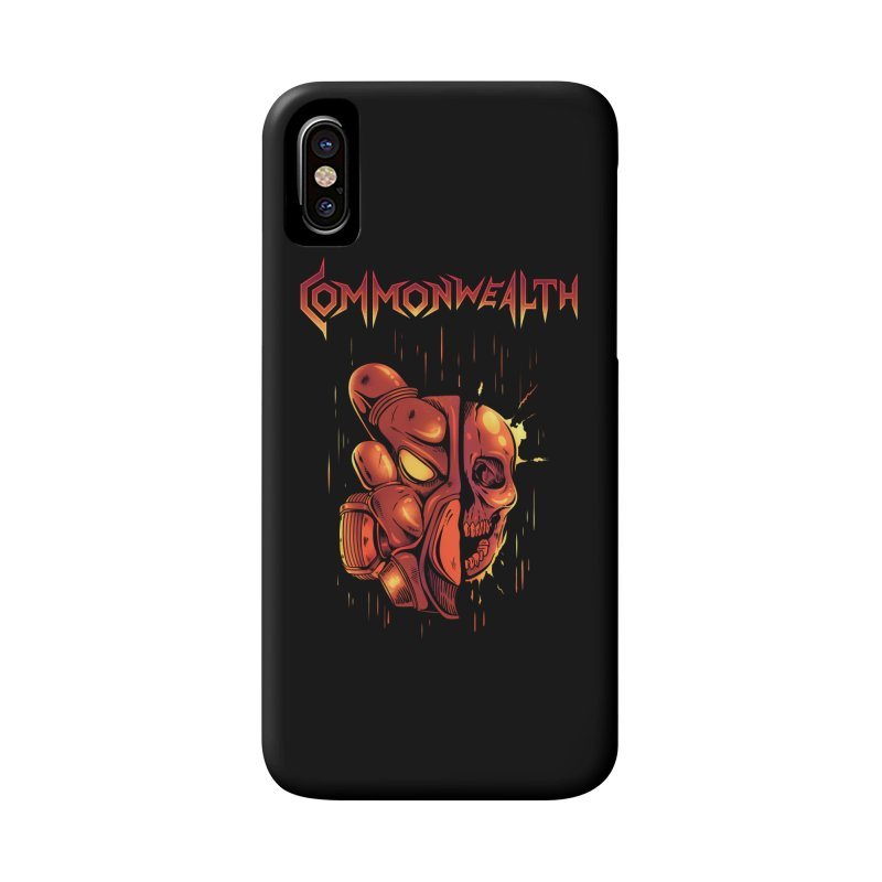 Metal band - Commonwealth Accessories Phone Case by Wolf Bite Shop