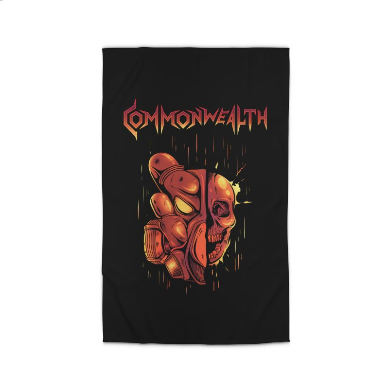 Metal band - Commonwealth Home Rug by Wolf Bite Shop