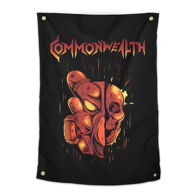 Metal band - Commonwealth Home Tapestry by Wolf Bite Shop