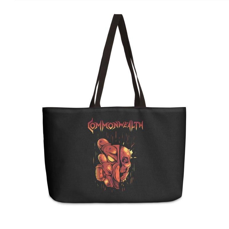 Metal band - Commonwealth Accessories Weekender Bag Bag by Wolf Bite Shop