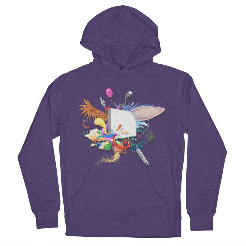 Pixel Story Women's Pullover Hoody by Wolf Bite Shop