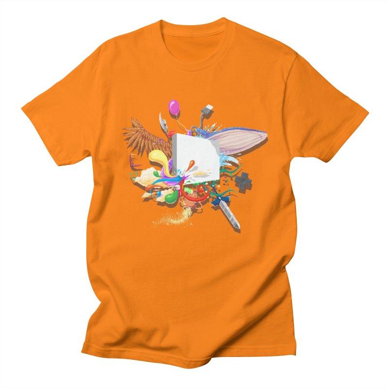 Pixel Story Men's T-Shirt by Wolf Bite Shop