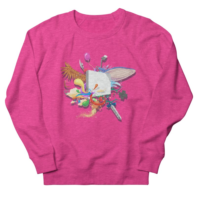 Pixel Story Women's Sweatshirt by Wolf Bite Shop