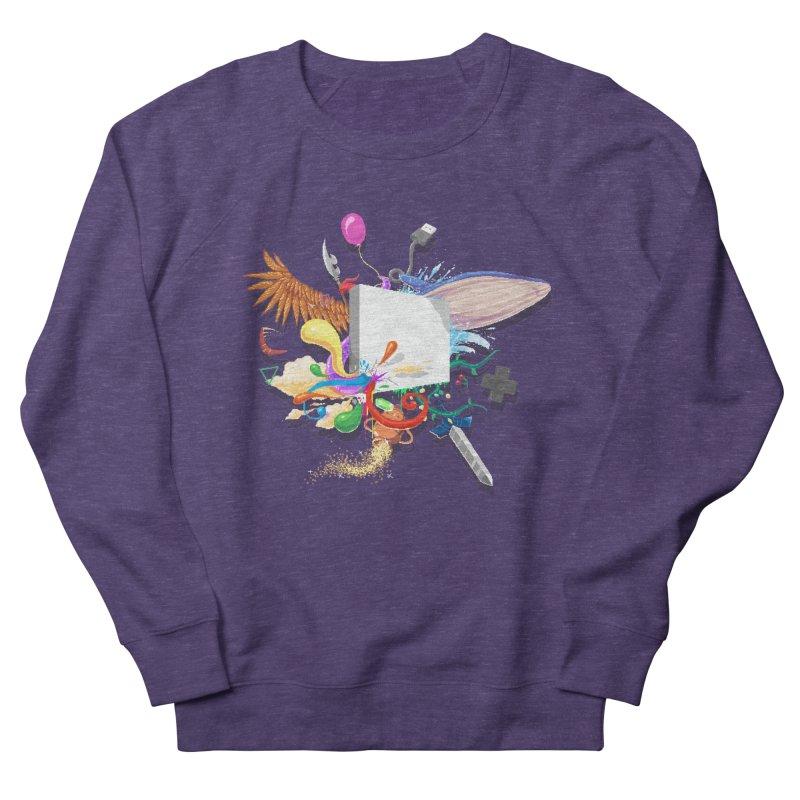 Pixel Story Men's Sweatshirt by Wolf Bite Shop