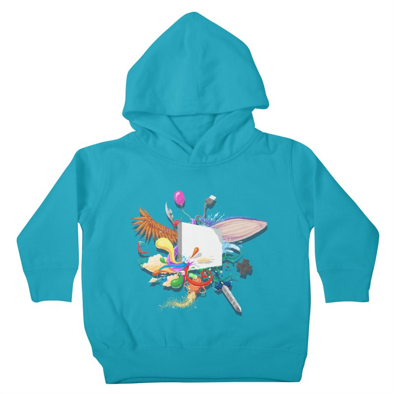 Pixel Story Kids Toddler Pullover Hoody by Wolf Bite Shop