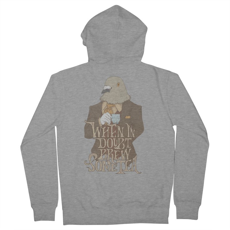 Brew Some Tea Women's Zip-Up Hoody by Wolf Bite Shop